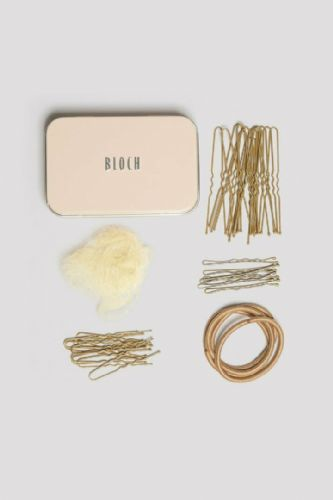 BLOCH Hair Kit Bun Kit in Bloch Branded Tin Blonde Caramel Brown Dk Brown Black